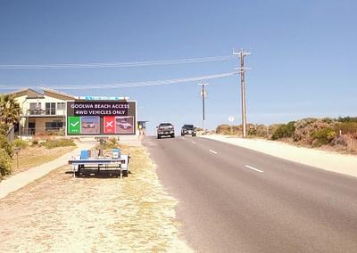 Goolwa Beach Graphic Road Signs
